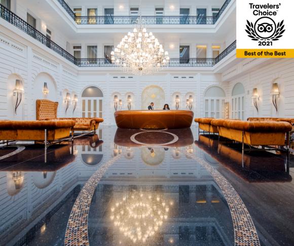 Ismét ez a fővárosi hotel Európa egyik legromantikusabbja