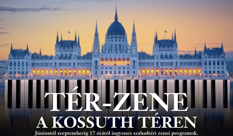 Újra Tér-Zene a Kossuth téren