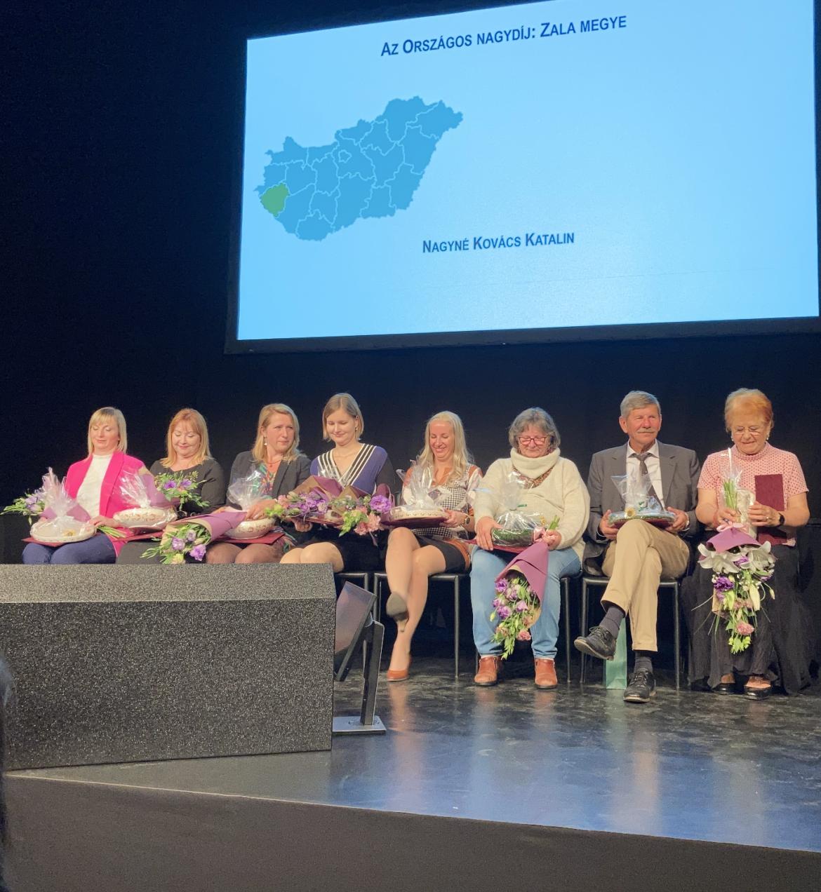 Régiók Falusi Szolgáltatói 2021 díjátadó